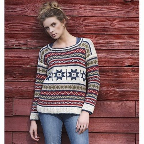 Tahki Yarns Country Quilt Pullover PDF -  ()