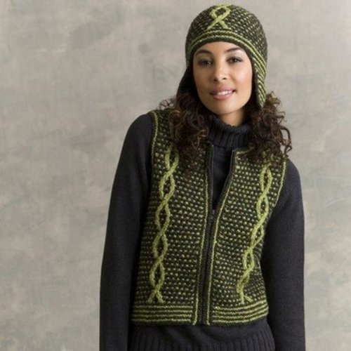 Tahki Yarns Dickens Vest and Helmet PDF -  ()