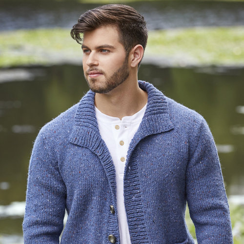 Tahki Yarns Lee Cardigan PDF -  ()
