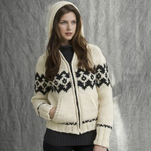 Tahki Yarns Lodge Zipped Hoodie PDF -  ()