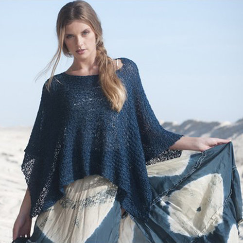 Tahki Yarns Long Beach Poncho Top PDF -  ()