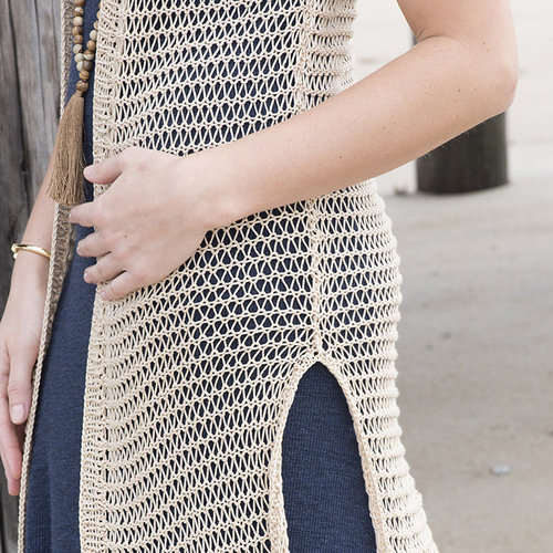 Tahki Yarns Long Branch Vest -  ()