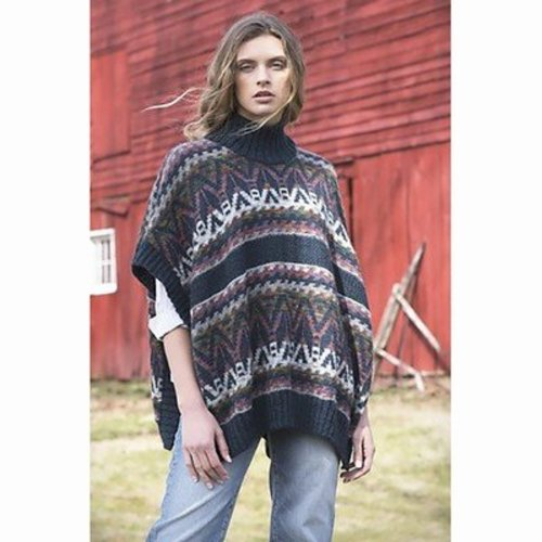 Tahki Yarns Mountainside Poncho PDF -  ()