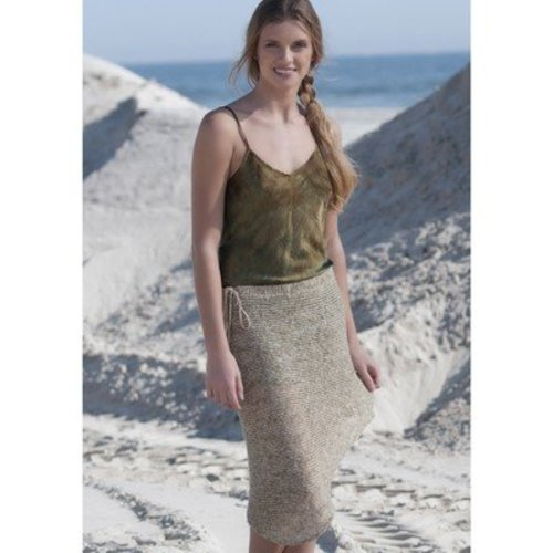 Tahki Yarns Orient Point Asymmetrical Skirt PDF -  ()
