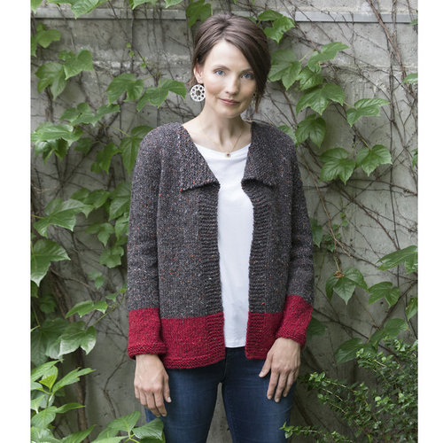 Tahki Yarns Sailboat Colorblock Jacket PDF -  ()