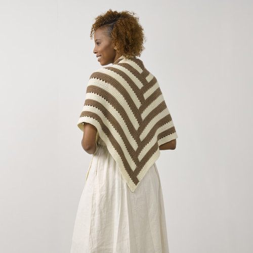 Tahki Yarns Sanderling Shawl PDF -  ()