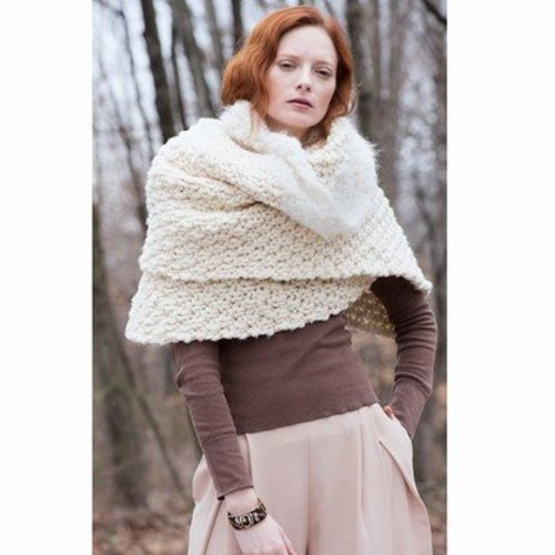 Tahki Yarns Sugar Maple Wrap PDF -  ()