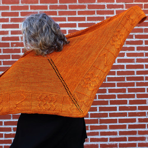 Tamara Moots Rock Art Shawl PDF -  ()