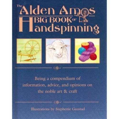 The Alden Amos Big Book of Handspinning -  ()