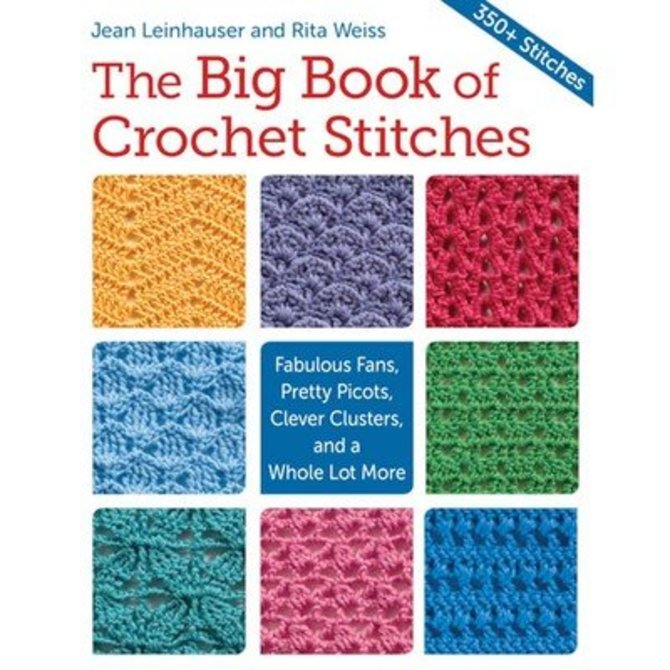 The Big Book Of Crochet Stitches At Webs Yarncom