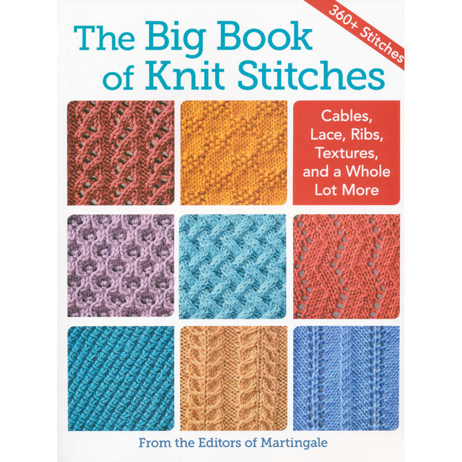 The Big Book Of Knit Stitches At Webs Yarn Com