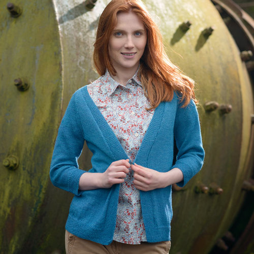 The Fibre Co. A-Line Cardigan PDF -  ()