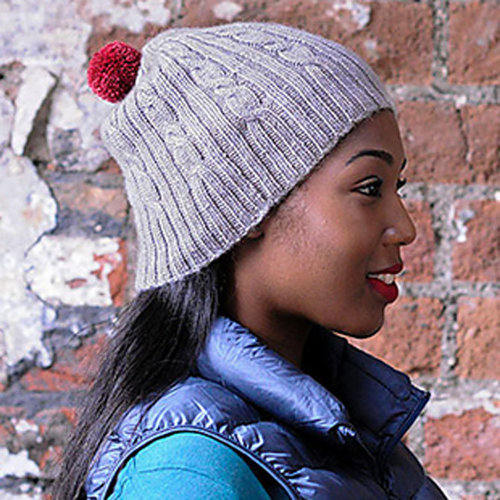 The Fibre Co. Cable and Rib Hat PDF -  ()