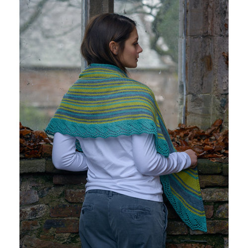 The Fibre Co. Crescent Shawl PDF -  ()
