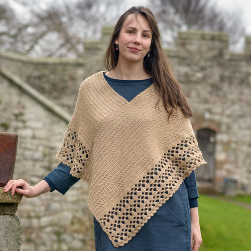 The Fibre Co. Crochet Poncho & Stole PDF -  ()