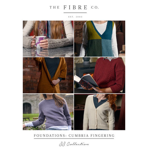 The Fibre Co. Foundations: Cumbria Fingering Collection eBook -  ()