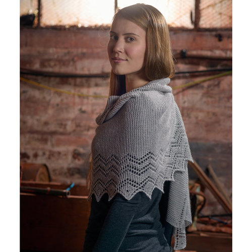 The Fibre Co. Lace Shawl PDF -  ()