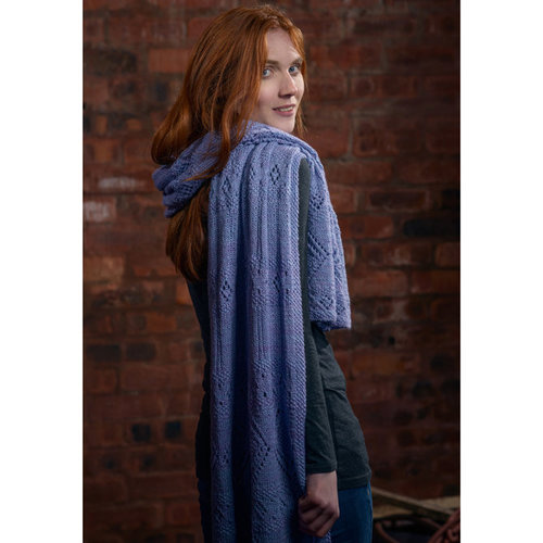 The Fibre Co. Lace Stole PDF -  ()