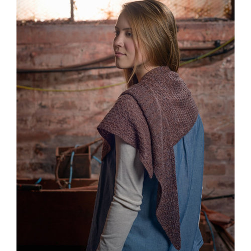 The Fibre Co. Textured Shawl PDF -  ()