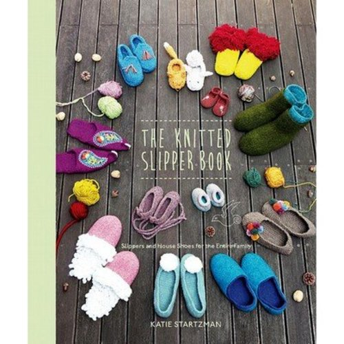 The Knitted Slipper Book -  ()