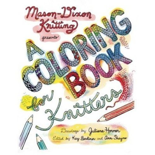 The Modern Daily Knitting Coloring Book for Knitters -  ()