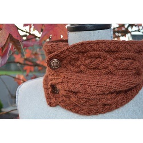 The Stitches of My Life Designs Erin's Cowl PDF -  ()