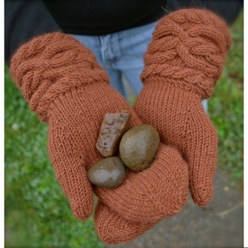 The Stitches of My Life Designs Erin's Mittens and Mitts PDF -  ()