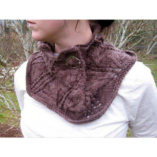 The Stitches of My Life Designs Ida Lace Cowl PDF -  ()