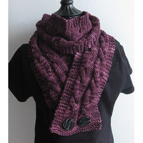 The Stitches of My Life Designs Virginia Cowl PDF -  ()