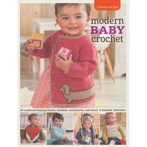 Three Skeins or Less - Modern Baby Crochet -  ()