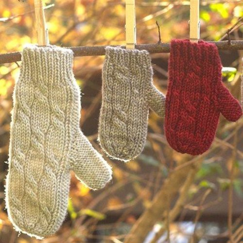 Tin Can Knits Bon Bon Mittens PDF -  ()