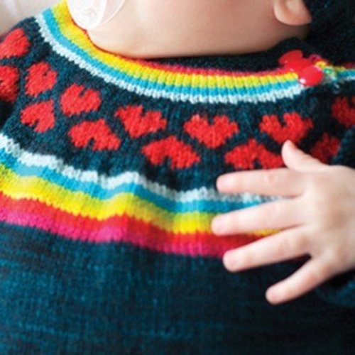 Tin Can Knits I Heart Rainbows Set PDF -  ()