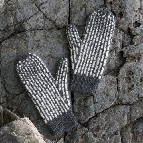 Tin Can Knits Lines Mittens PDF -  ()