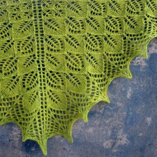 Tin Can Knits Photosynthesis Shawl PDF -  ()
