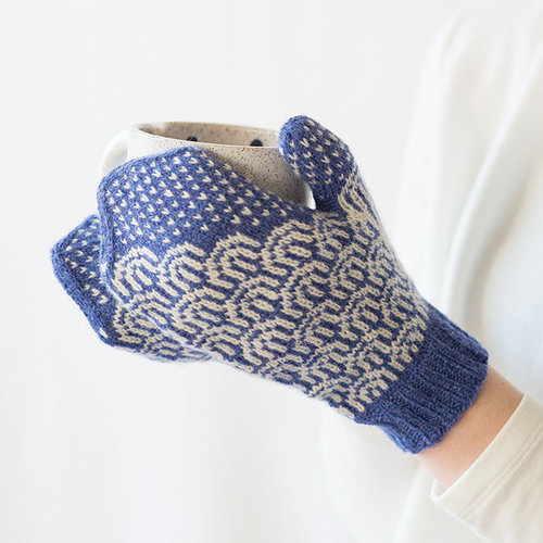Tin Can Knits Waves Mittens PDF -  ()