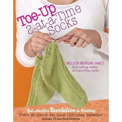 Toe-Up 2-at-a-Time Socks -  ()
