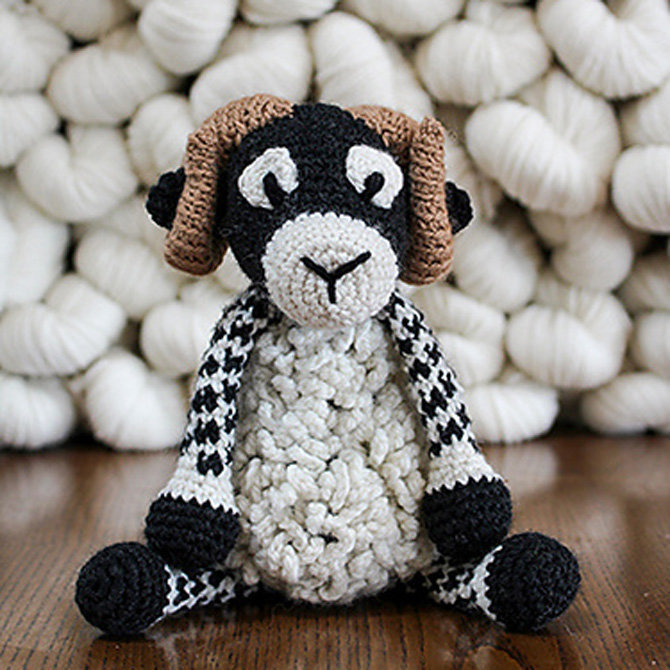 Toft Sheep - 18 Crochet Sheep Patterns at WEBS | Yarn com