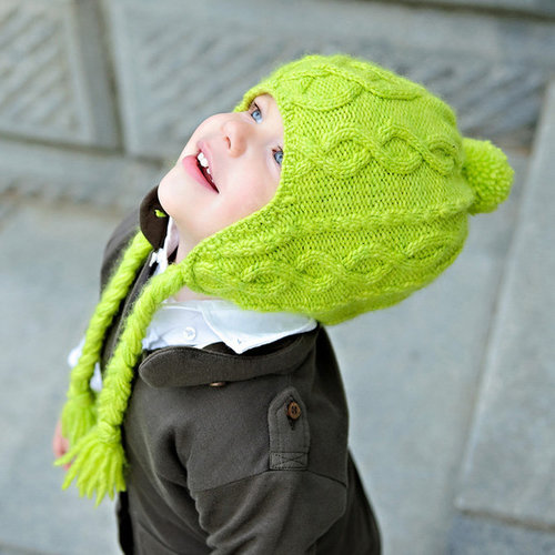 Tot Toppers Sweet 'n Sour Apple Hat PDF -  ()
