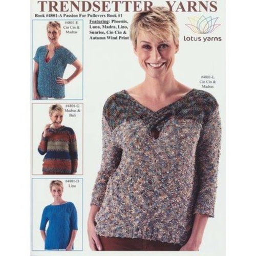 Trendsetter Yarns 4801A A Passion for Pullovers Book #1 -  ()