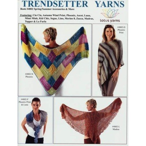 Trendsetter Yarns 4802 Spring/Summer Accessories & More -  ()