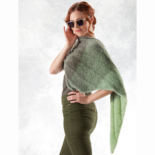 Trendsetter Yarns Willow Ribbed Triangle Scarf (Free) -  ()