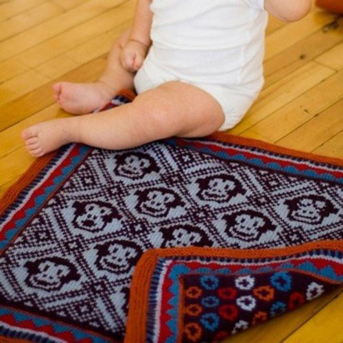 Twist Collective Sleepy Monkey Blanket PDF -  ()