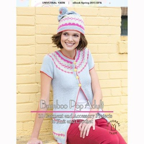 Universal Yarn Bamboo Pop Adult eBook -  ()