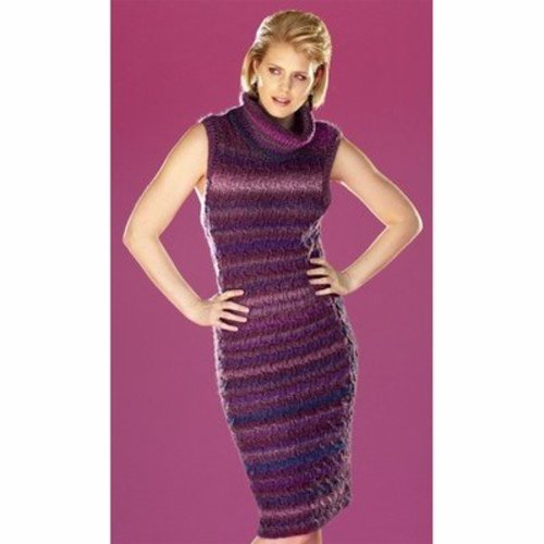 Universal Yarn Cable Check Dress (Free) -  ()