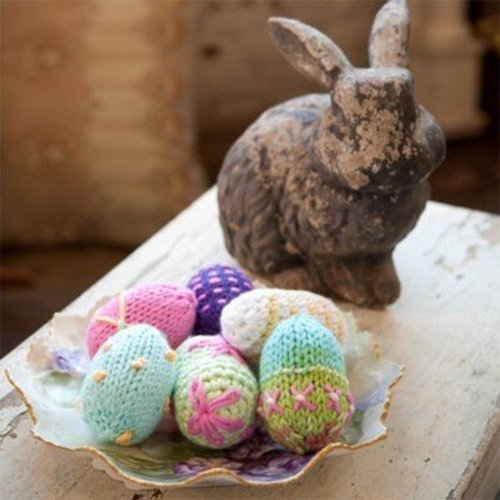 Universal Yarn Cotton Supreme Easter Eggs (Free) -  ()