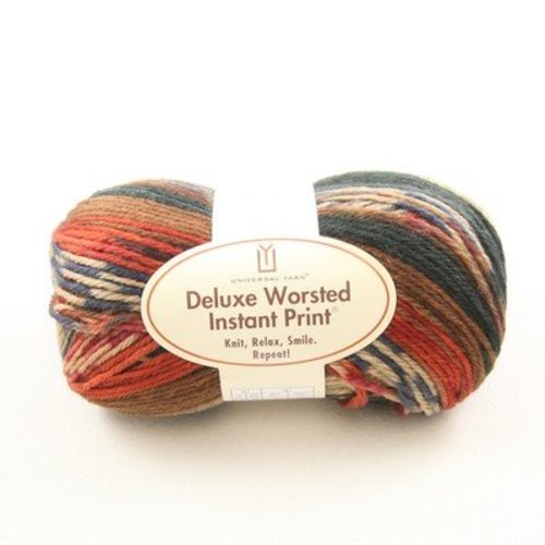 Universal Yarn Deluxe Worsted Instant Print -  ()