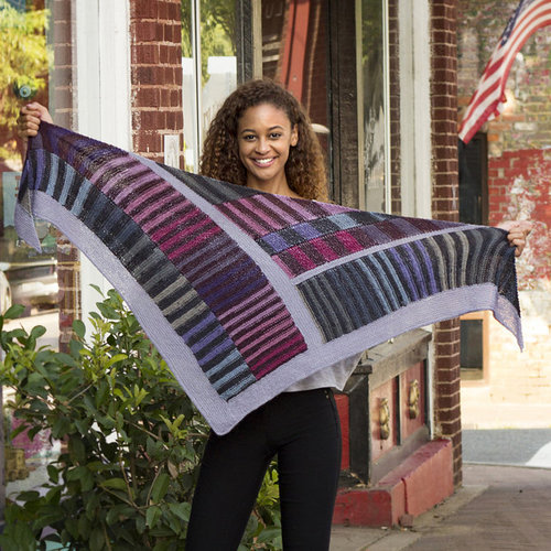 Universal Yarn Exhilarate Shawl Kit - Original (01)