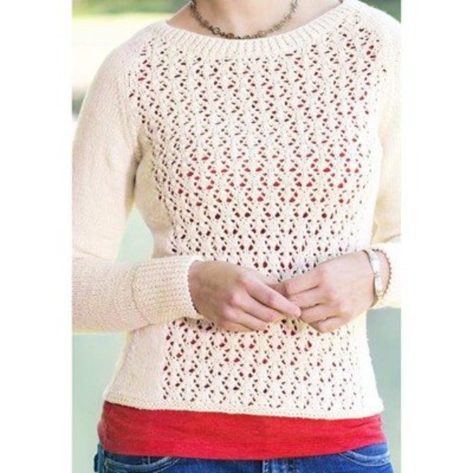 Universal Yarn Fleurette Lace Pullover Free At Webs Yarn
