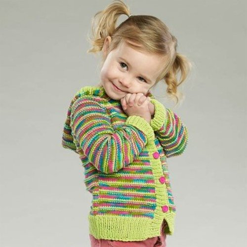 Universal Yarn Happy Joy Hoodie (Free) -  ()