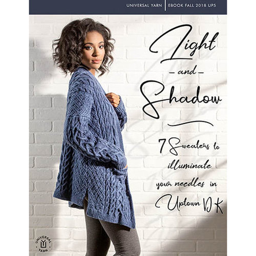 Universal Yarn Uptown DK: Light and Shadow eBook -  ()